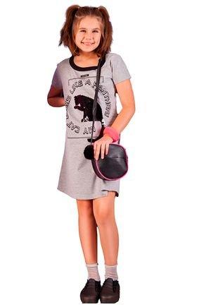 vestido fashion infantil fruto